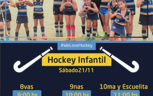 #HockeyInfantil - Actividad 21/11