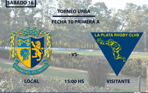 Este Sábado enfrentamos a La Plata Rugby