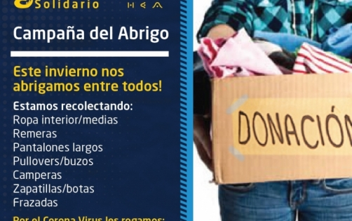 San Albano Solidario - Campaña del Abrigo
