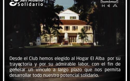 San Albano Solidario - Hogar El Alba