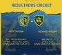 #Cricket Resultados Sábado 6/2