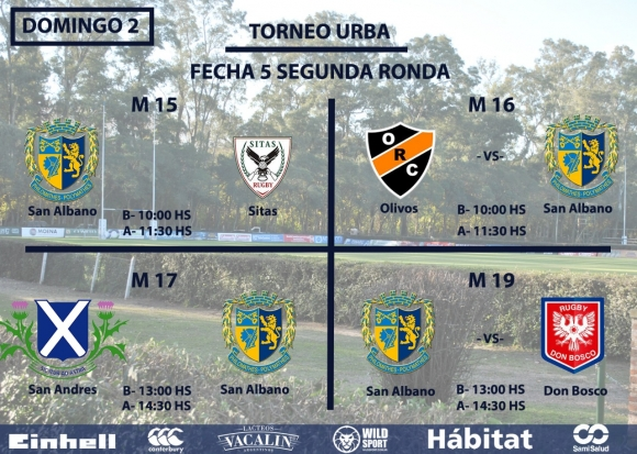Rugby Juvenil - Domingo 31-8