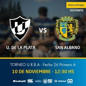 Este Sábado visitamos a U de La Plata