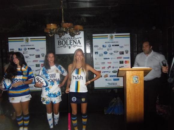 San Albano presentó la Indumentaria de Rugby y Hockey para el 2013