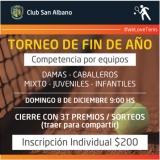 Torneo fin de año de Tenis
