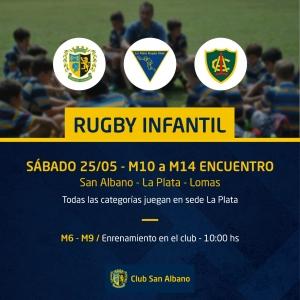 Actividades Rugby Infantil 25/5