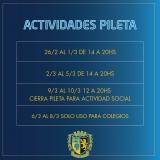 Actividades de Pileta