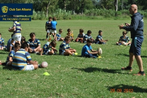 Staff de Rugby Infantiles 2021