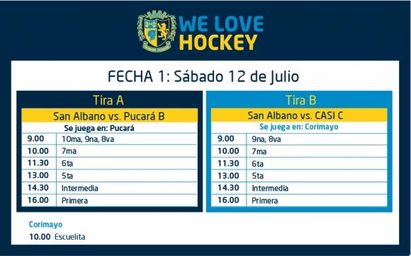 Hockey: Actividades del 11/7