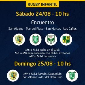 ¡Encuentro de Rugby Infantil!