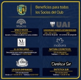 Beneficios para los socios de nuestro Club