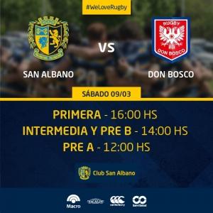 Enfrentamos a Don Bosco Rugby