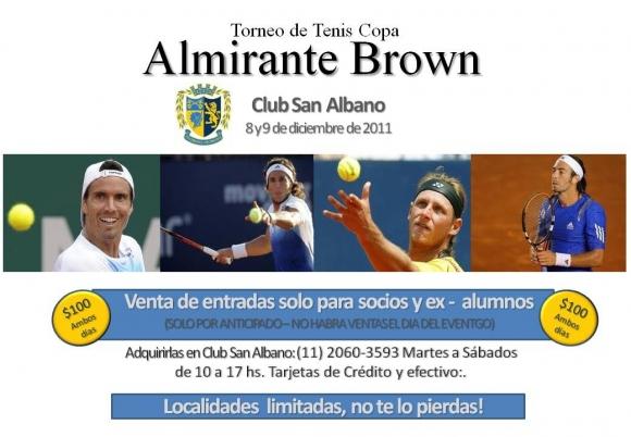 Torneo de Tenis Copa Almirante Brown 2011