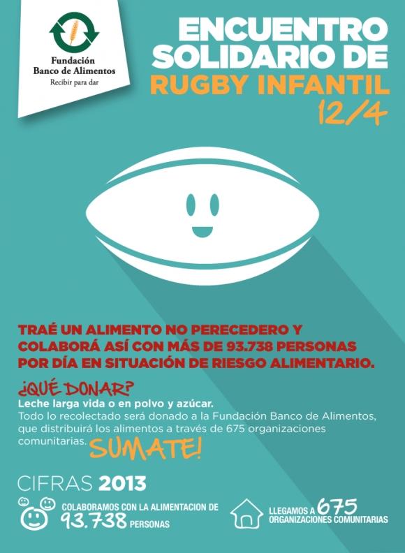 12/4:Encuentro Solidario de Rugby Infantil