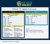 Hockey: Actividades del 9 de junio