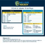 Hockey: Actividades del 16/5