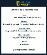 Arranca la pretemporada de hockey