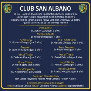 Nuevas autoridades en nuestro Club