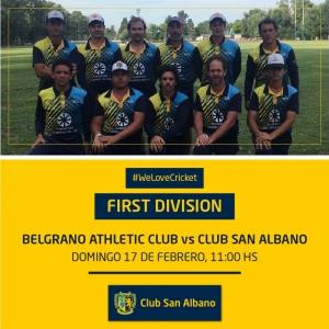 Enfrentamos a Belgrano Athletic de visitante