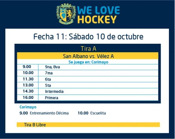 Hockey: Actividades del 10/10