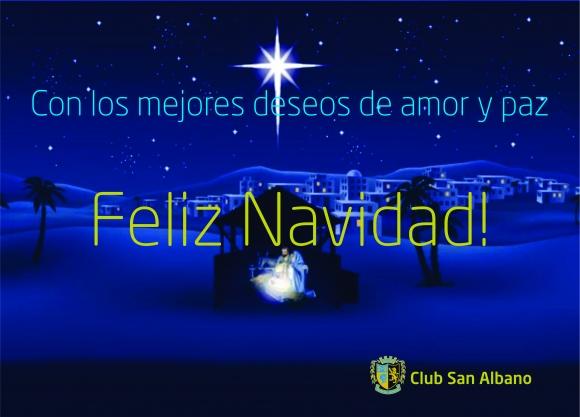 ¡San Albano te desea una feliz navidad!