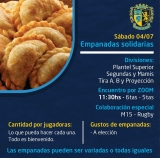 Nueva edición de las empanadas solidarias