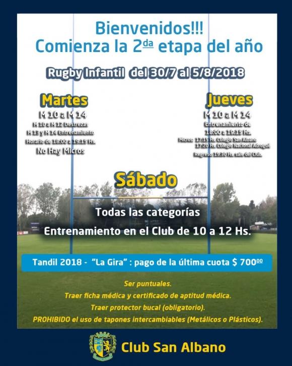 Actividades de Rugby Infantil 4/8