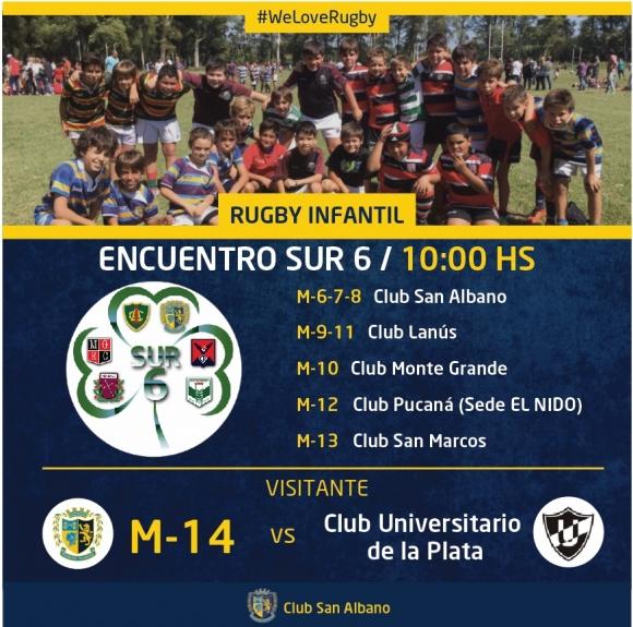 Encuentro Sur Seis - Rugby Infantil
