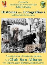 """Conferencia """"Historias de las fotografías"""" a cargo de Julio Foster"""