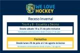 Hockey: Receso invernal 2015