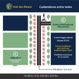 Estacionamiento permitido en el Club