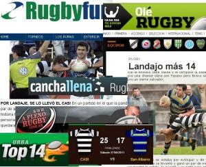 San Albano en los medios (Fecha 6 Top 14)