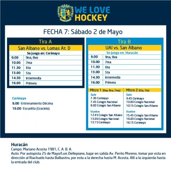Hockey: Actividades del 2/5