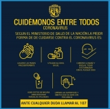 #CuidémonosEntreTodos del Coronavirus