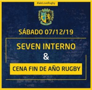 Cena de fin de año de Rugby