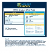 Hockey: Actividades del 24/3