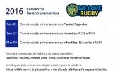 Rugby: Inicio de entrenamientos 2016