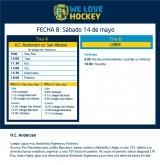 Hockey: actividades del 14 de mayo