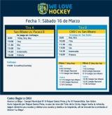 Hockey: Actividades del 16/3