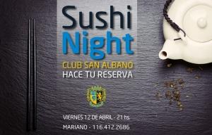Sushi Night en el Club