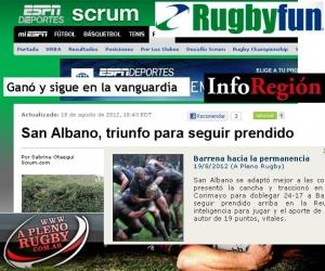 San Albano-Banco Nacion en los medios