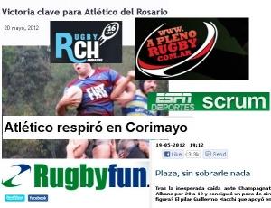 San Albano en los medios (URBA 2012 Fecha 6)