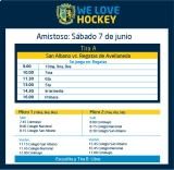 Hockey: Actividades del 7 de junio