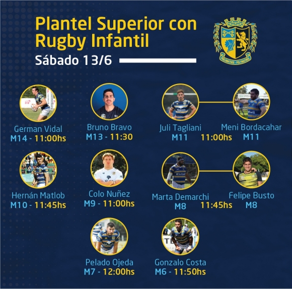 Charlas del PS con Rugby Infantil