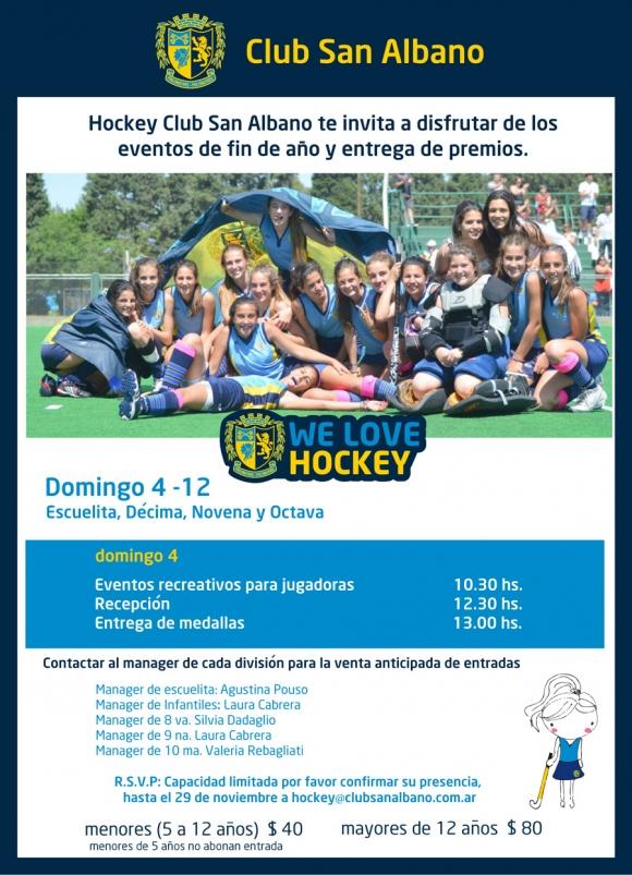 Hockey: Cierre de temporada 2011 (Escuelita,10ma, 9na, y 8va)