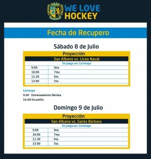 Hockey: finde de acción para la Proyección