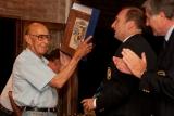 Marito, cuando recibió el Old Philomatian Award en 2011