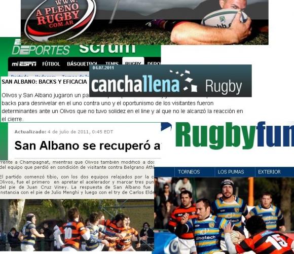 San Albano en los medios (Fecha 11)