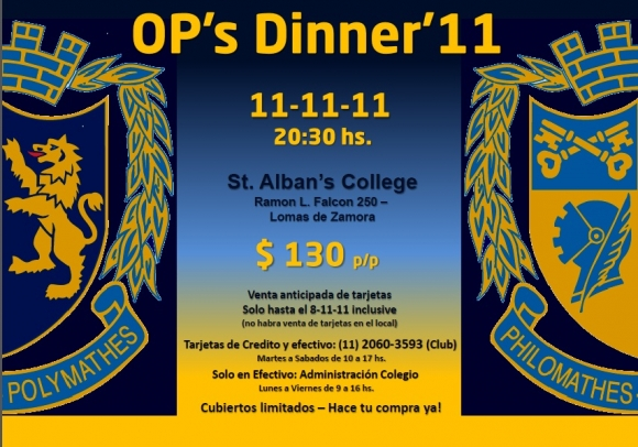 OP's Dinner '11