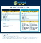 Hockey: Actividades del 9/4